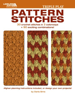 eBook Triple Play Pattern Stitches