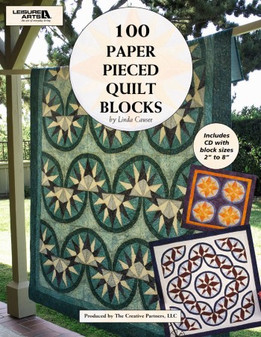eBook 100 Paper Pieced Quilt Blocks with CD