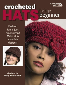 eBook Crocheted Hats For The Beginner