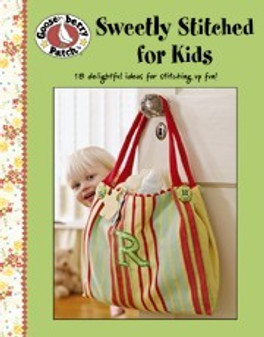 eBook Gooseberry Patch Sweetly Stitched for Kids
