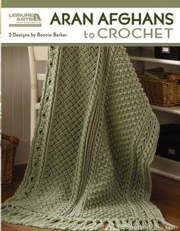 eBook Aran Afghans to Crochet