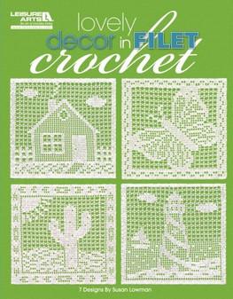 eBook Lovely Decor In Filet Crochet