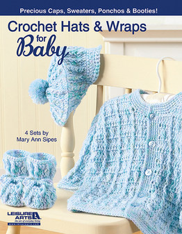 eBook Crochet Hats and Wraps for Baby