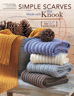 eBook Simple Scarves Made with the Knook