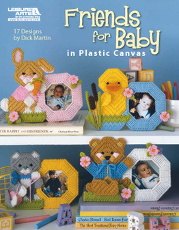 eBook Friends for Baby in Plastic Canvas