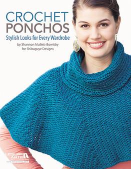 eBook Crochet Ponchos