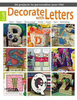 eBook Decorate with Letters
