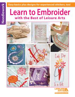 eBook Learn to Embroider with the Best of Leisure Arts