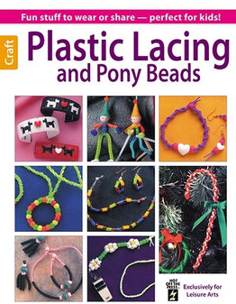 eBook Plastic Lacing & Pony Beads