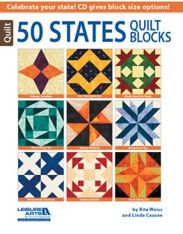 eBook 50 States Quilt Blocks