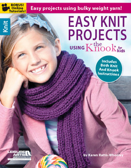 eBook Easy Knit Projects using the Kid's Knook