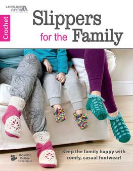 eBook Crochet Slippers for the Family