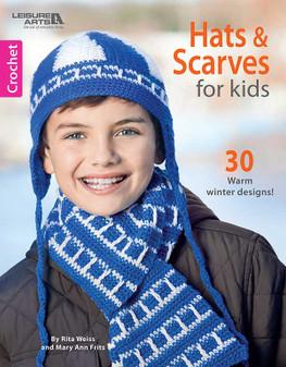 eBook Crochet Hats & Scarves for Kids