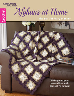 eBook Afghans at Home: Best of Mary Maxim