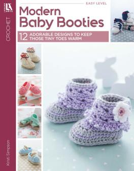 eBook Modern Baby Booties