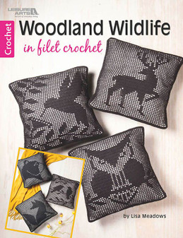 eBook Woodland Wildlife in Filet Crochet