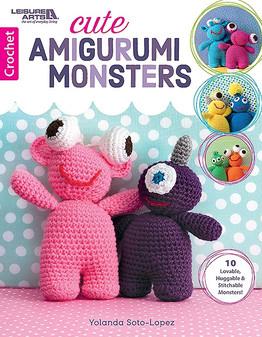 eBook Cute Amigurumi Monsters