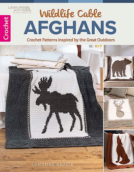 eBook Wildlife Cable Afghans