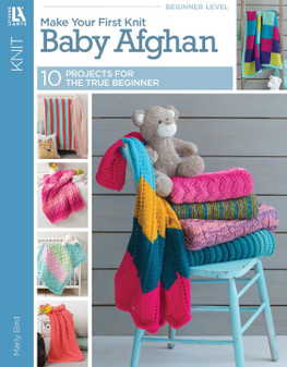 eBook Make Your First Knit Baby Afghan
