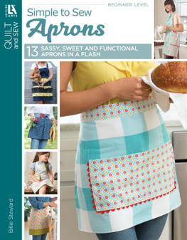 eBook Simple to Sew Aprons