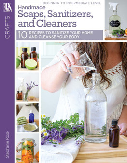 eBook Handmade Soaps, Sanitizers and Cleaners