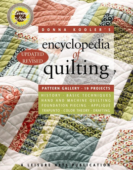 eBook Donna Kooler's Encyclopedia of Quilting-Revised
