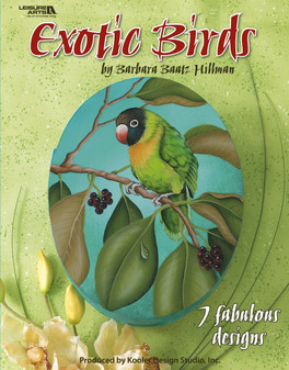 eBook Exotic Birds to Paint