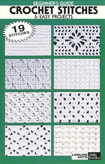 eBook Beginner-Crochet Stitches & Easy Project
