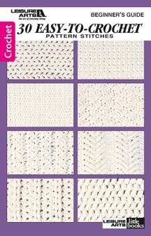 eBook Beginner - 30 Easy To Crochet Pattern Stitches