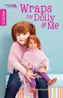 eBook Crochet Wraps for Dolly & Me
