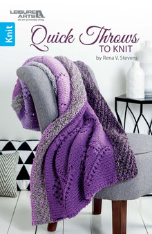 eBook Quick Throws to Knit - Refresh 4233