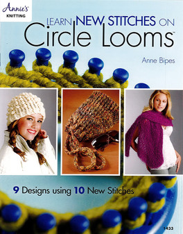 Annie's Learn New Stitches On Circle Looms Book