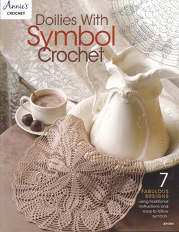 Annie's Doilies With Symbol Crochet Book