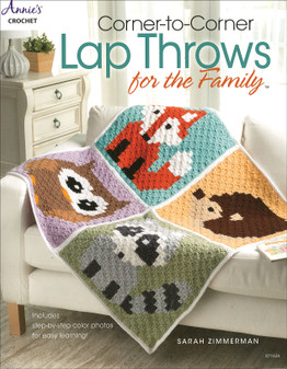 Annie's Corner To Corner Lap Throws For Family Book