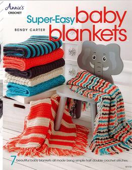 Annie's Crochet Super-Easy Baby Blankets Book