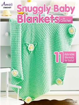 Annie's Snuggly Baby Blankets To Crochet Book