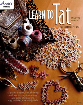 Annie's Learn To Tat with Interactive DVD & Book