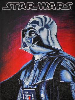 Camelot Dotz Diamond Painting Kit Darth Vader