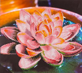 "Diamond Art Kit 14""x 16"" Advanced Lotus"