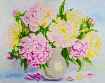 """Diamond Art Kit 14""""x 16"""" Advanced Flower Bouquet"""
