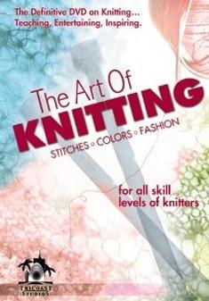 Leisure Arts The Art of Knitting DVD