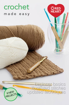 Leisure Arts Crochet Made Easy Book