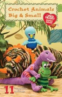 Coats & Clark Crochet Animals Big & Small Book