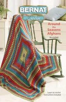 Bernat Around Seasons Afghans Crochet Book