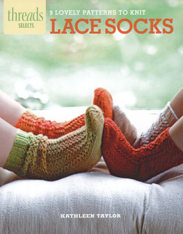 Taunton Press Threads Lace Socks Knit Book