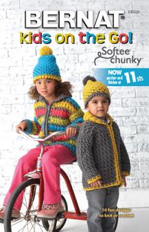 Bernat Kids On The Go Knit & Crochet Book