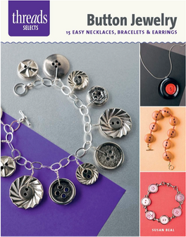 Taunton Press Threads Selects Button Jewelry Book