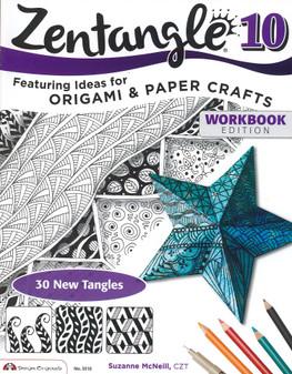 Design Originals Zentangle 10 Origami & Paper Crafts Book