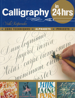 Barrons Calligraphy In 24hrs Book