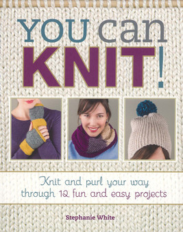 You Can Knit Book
